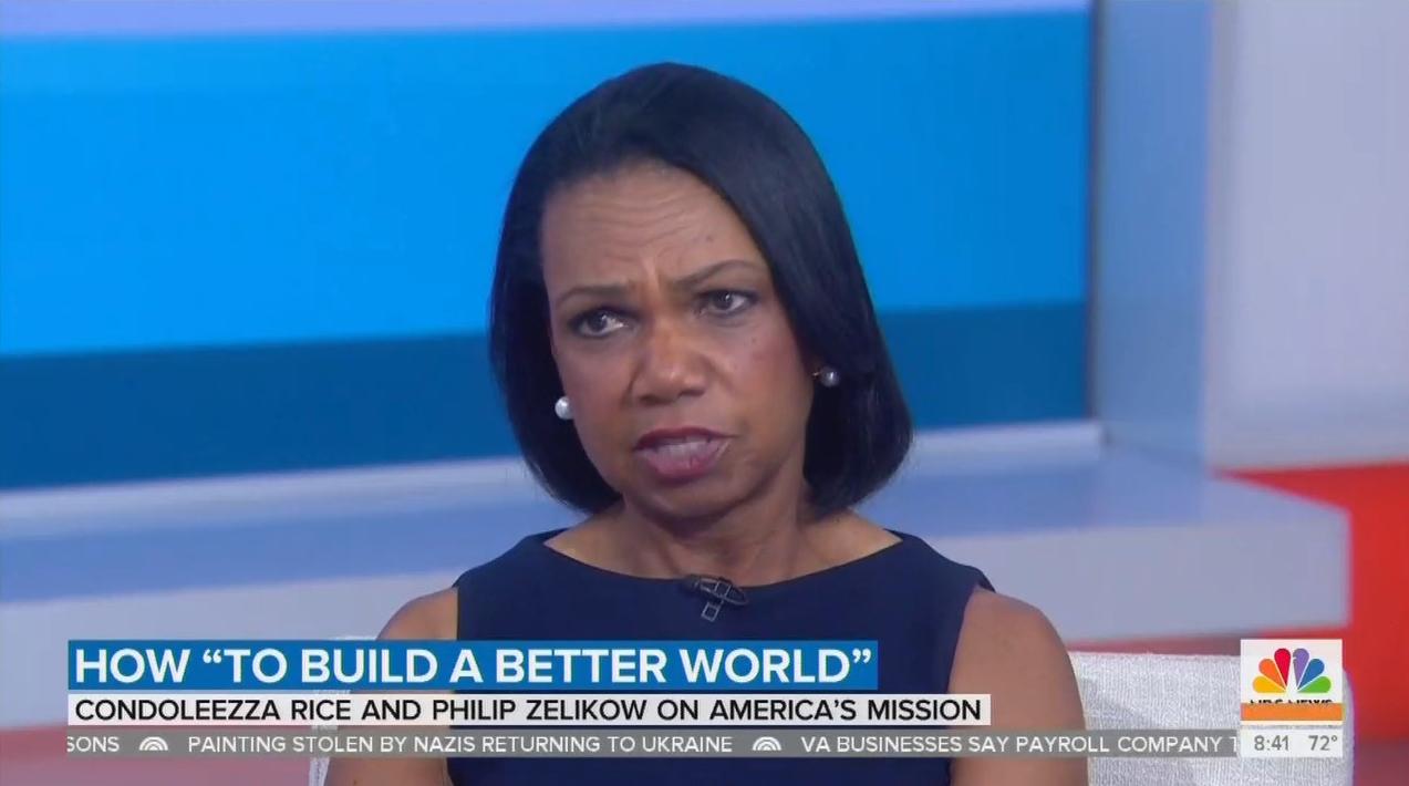 Condi Rice SHUTS DOWN NBC Asking if Russia Elected Trump