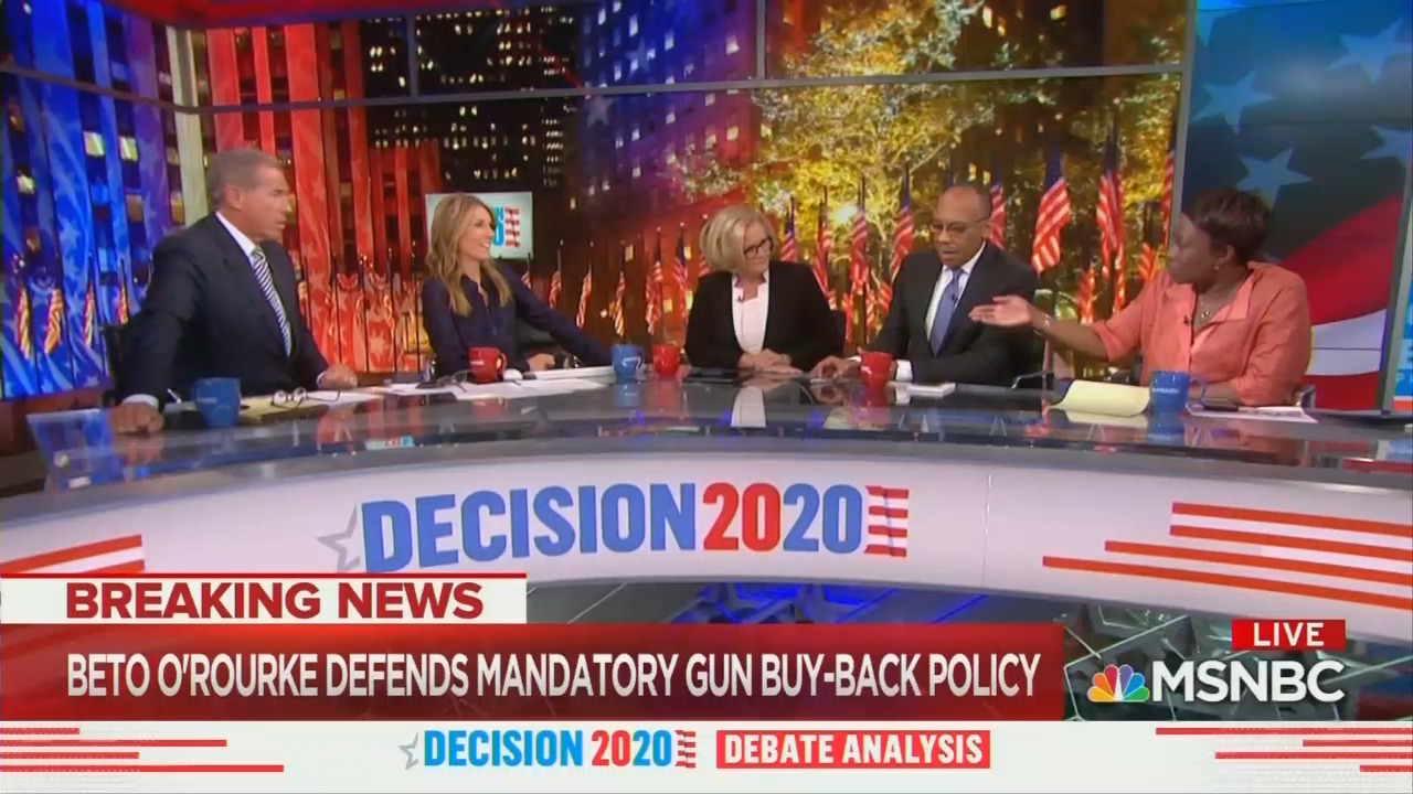 MSNBC Panel Swoons Beto 'Found His Voice,' Hails Gun Confiscation Plan