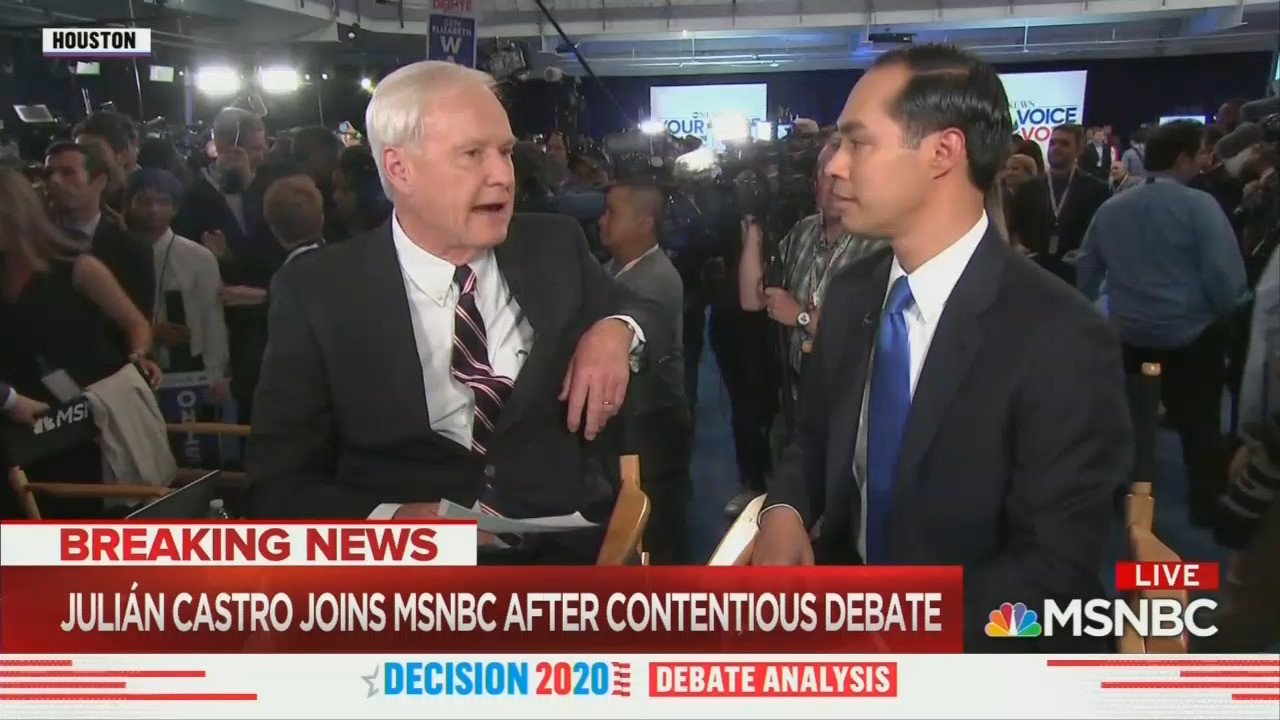 MSNBC Bashes Castro for Hit on Biden's Health, Love Doing It to Trump