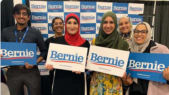 Media Ignore Sanders Touting Endorsement by Anti-Semite Linda Sarsour