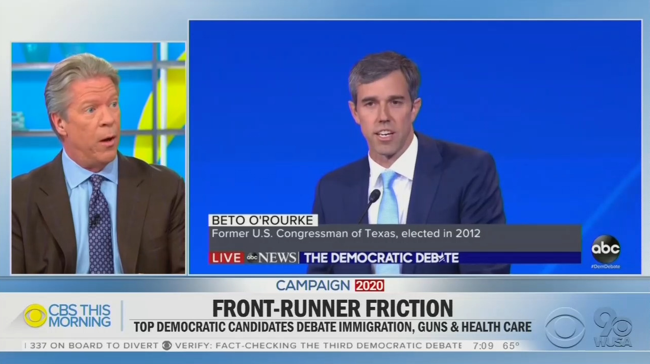 CBS Hails Beto as 'Candidate of Conviction' for Gun-Grabbing Scheme