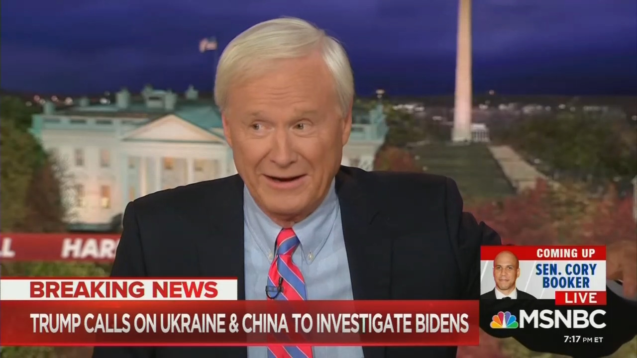Matthews, Pals Laugh at Pence Being Pulled into Impeachment Probe
