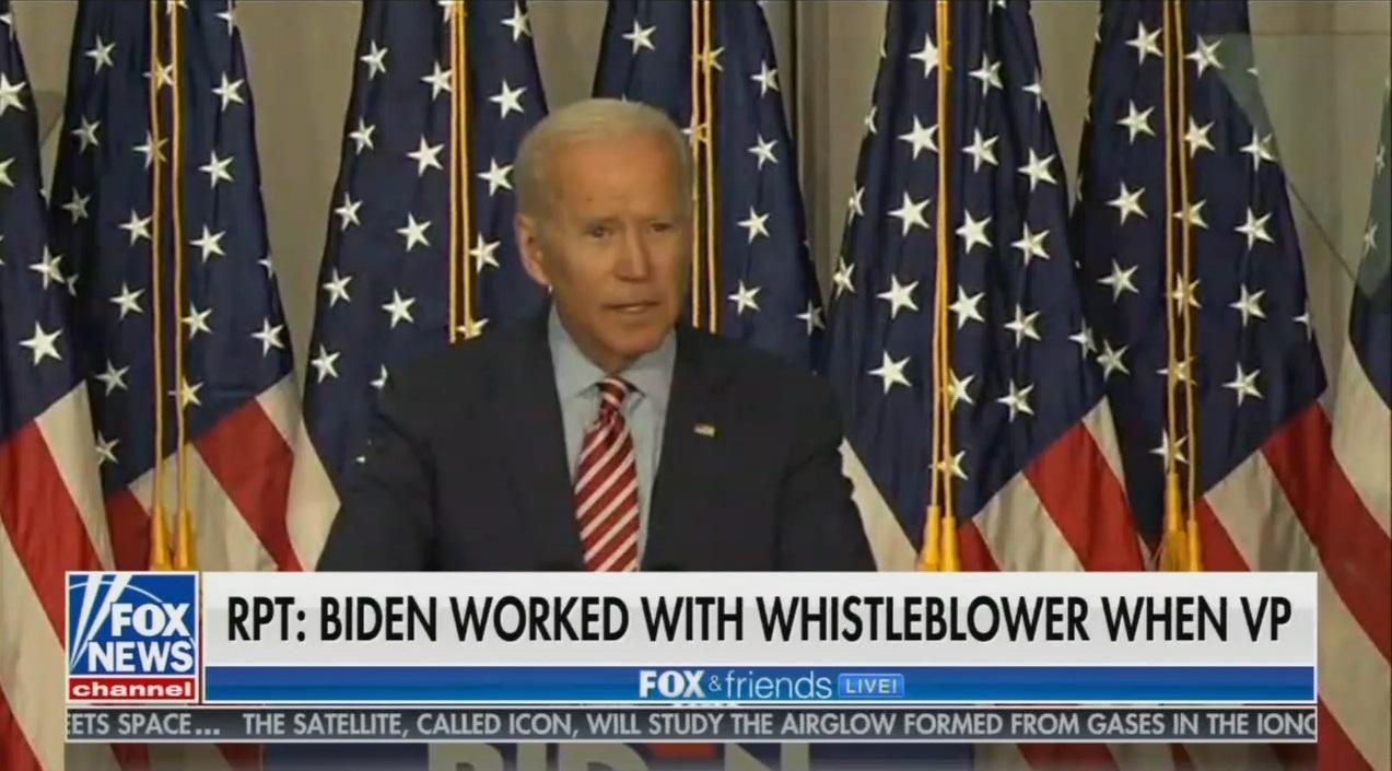 Still Silent: Nets Ignore News That Whistleblower Worked With Biden