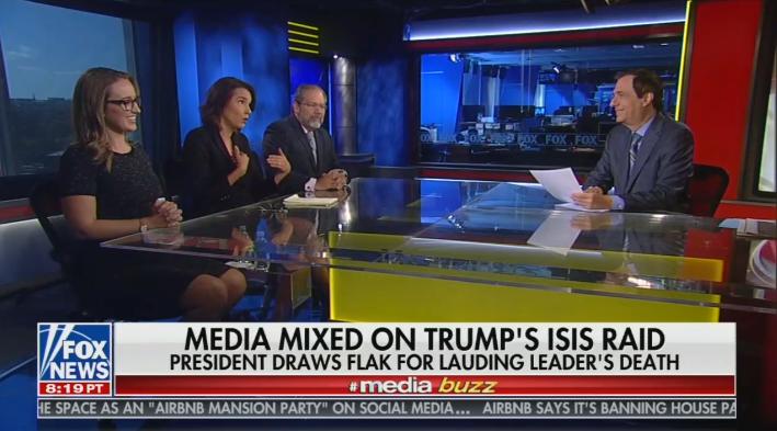 Fox News Panel Blasts Lib Media for Using Baghdadi Raid Against Trump
