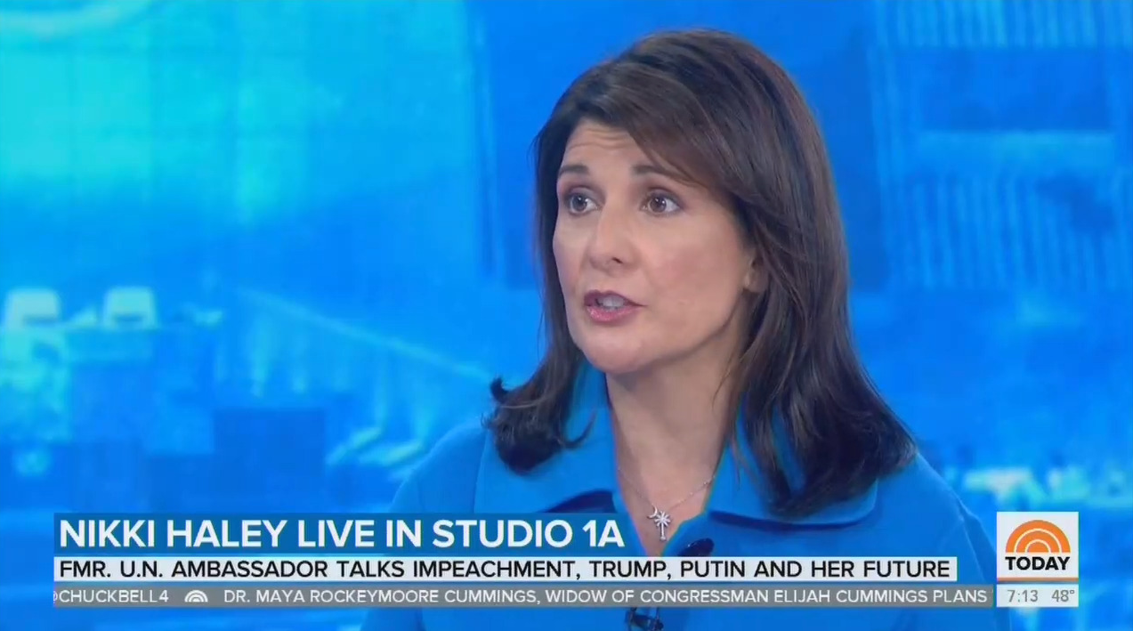 Nikki Haley Tells Off NBC's Guthrie: 'You Have to Look at Biden'