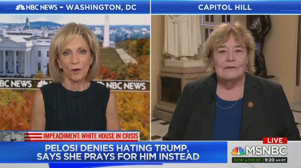 Andrea Mitchell Says She Can 'Attest' to Pelosi's 'Deep Faith'