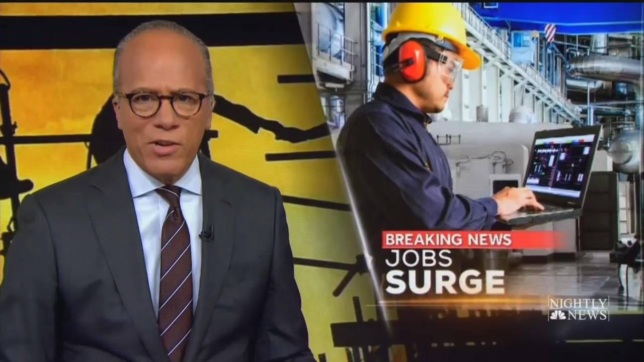 CBS, NBC Barely Cover Huge Jobs Report; ABC Boasts 'Jobs Growth Soars'