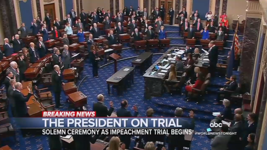 ABC Chides Senate GOP for Signing Oath of Impartiality for Trial