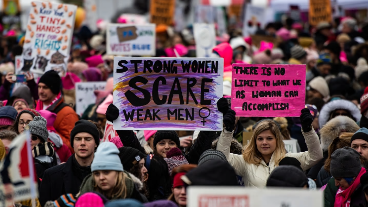 Post Smears 'Civil War' on Gun March, Touts 'Hope' in Feminist Fury