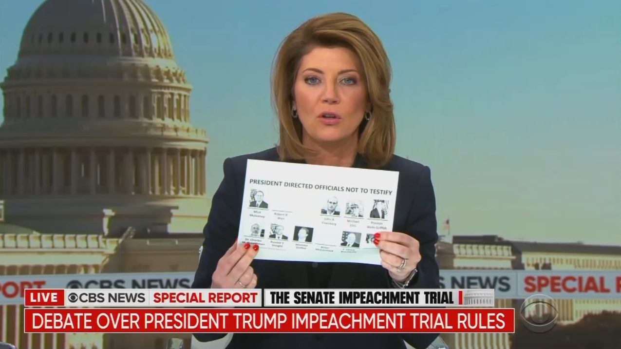 CBS's O'Donnell Marvels at Schiff's 'Full Screen' Impeachment Show