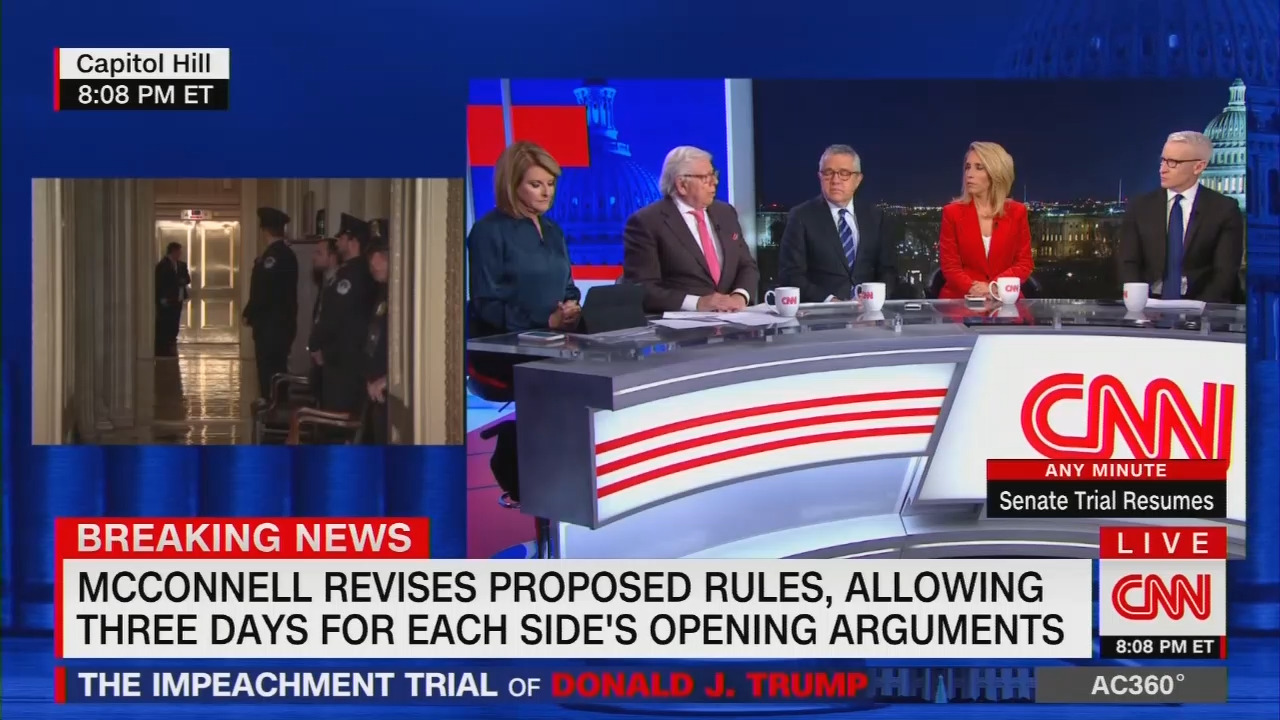 Partisan CNN Boasts Day Was 'Devastating' for Trump, McConnell