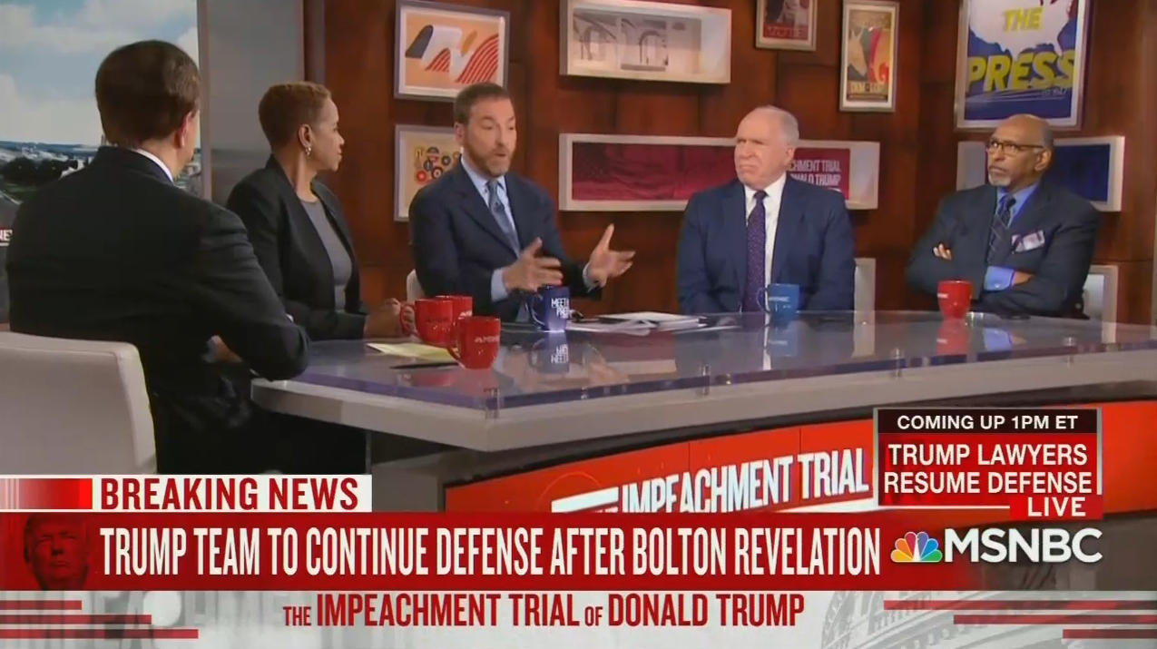MSNBC Urges Cancelling State of the Union Amid Impeachment