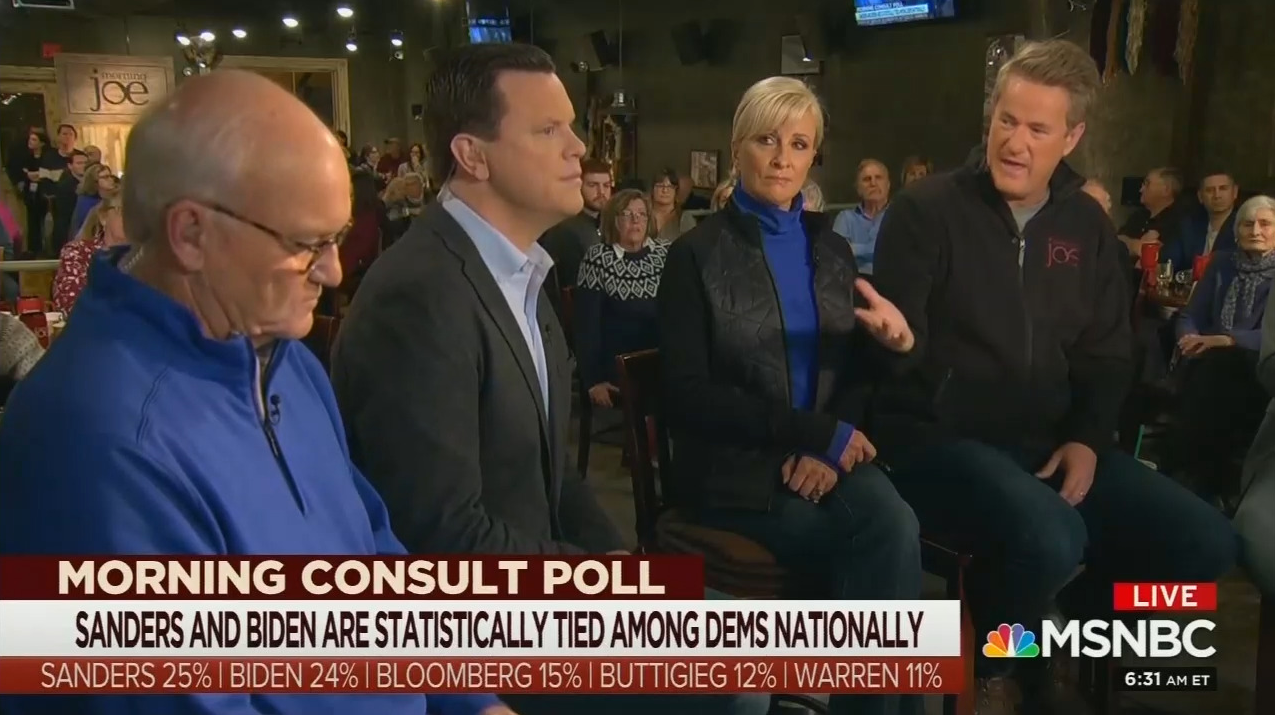 Scarborough: I'm Getting 'Panicked Calls' From Dems About 2020