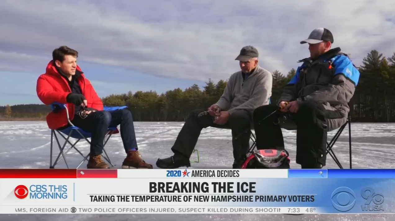 New Hampshire Voter Mocks CBS Host Over Climate Change: 'You Gotta Be Kidding Me'