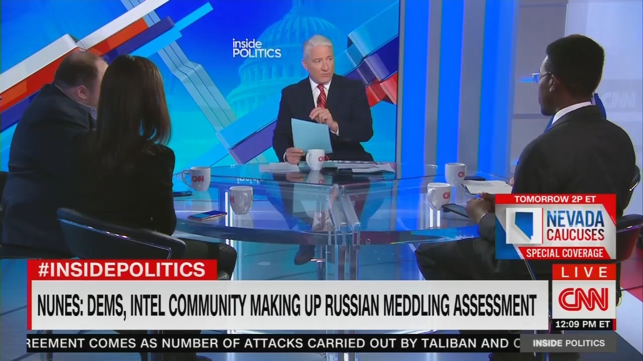 CNN Panel: 'No One' Is 'Saying' Trump Is Illegitimate, 'Colluding with Russia Again'