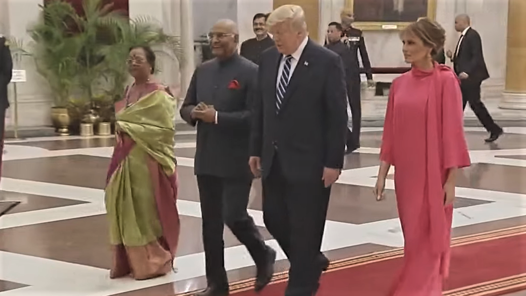 Yahoo 'News' Pushes Silly Story: The Trumps Won't Eat Their Vegetables In India!