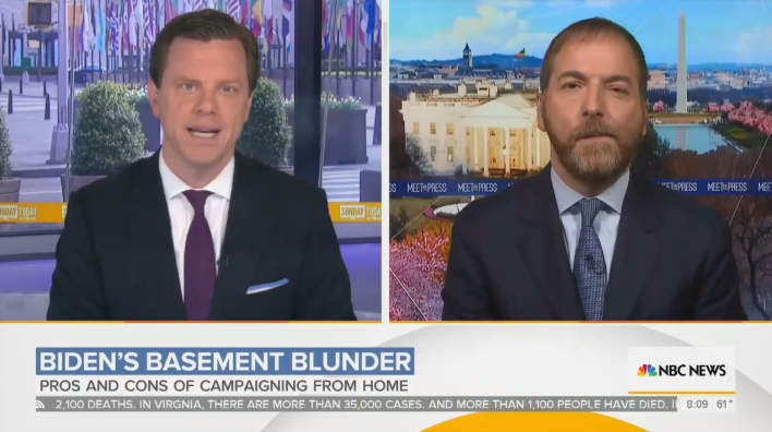 Chuck Todd Laments Biden Has to Answer for Racist 'You Ain't Black' Comment