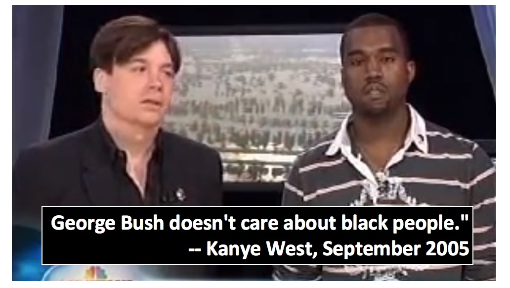 Image result for kanye bush hates black