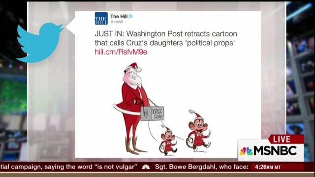 Willie Geist: MSM Bias in 'Disgusting' WaPo Cartoon Mocking