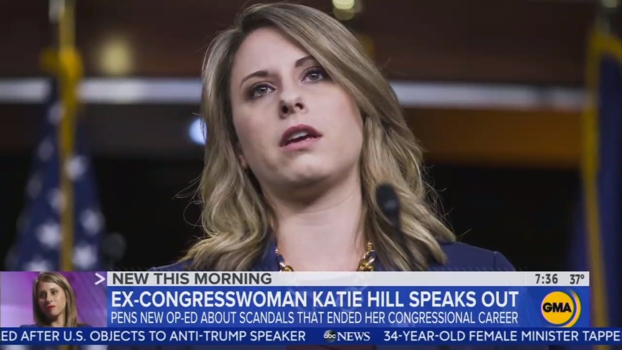 Misleading ABC Spins Katie Hill as Smear Victim: Got Her 'War Paint'