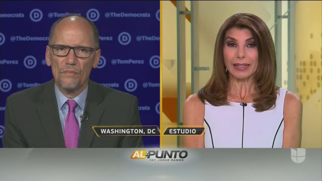 SHOCK: Univision Anchor Asks 'How Can Dems Compete With Trump?'