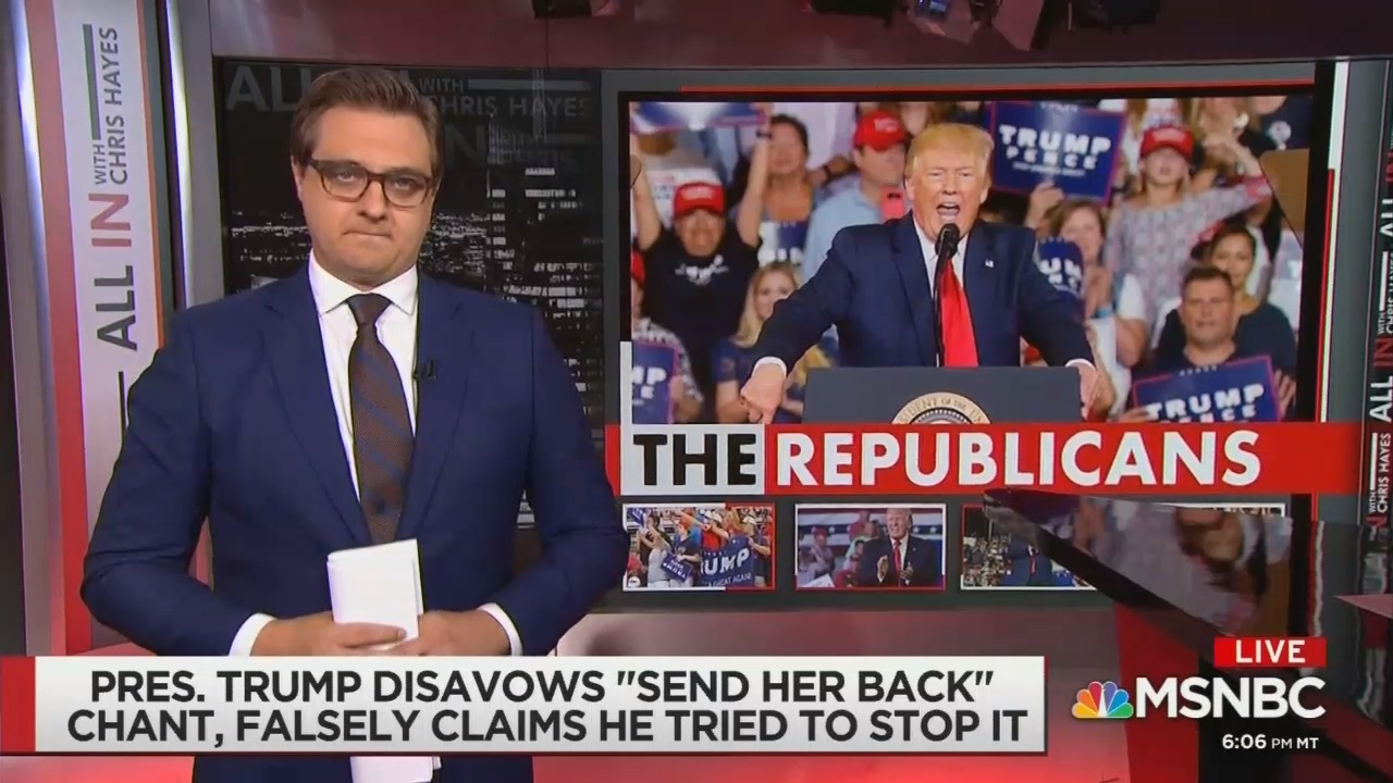 MSNBC: Trump Supporters Must Be 'Confronted and Destroyed'