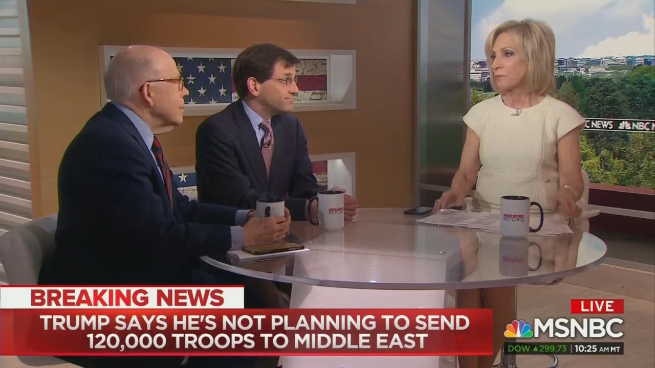 'Is This the Gulf of Tonkin?' MSNBC Fears Trump Could go to War with Iran