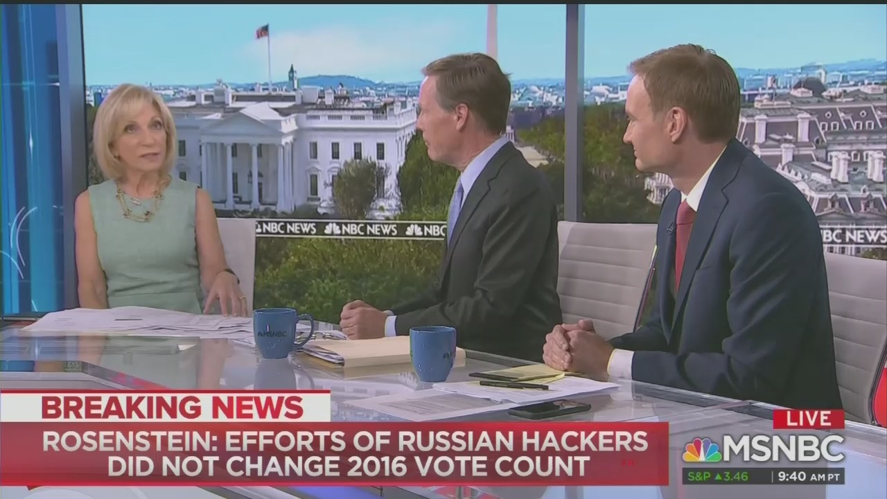 MSNBC Panel Rips Trump's 'Wrecking Ball Tour' Accuses Him of Interfering in the British Election