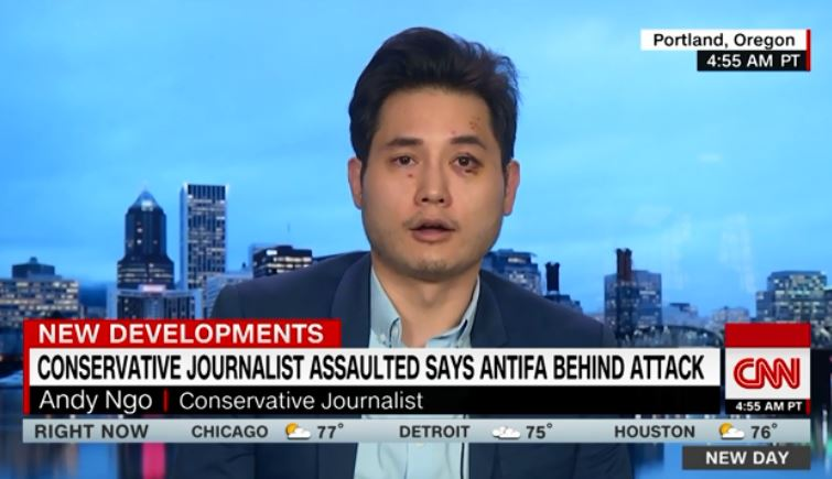 NY Times' Pathetic Response to Antifa Assault on Conservative Reporter
