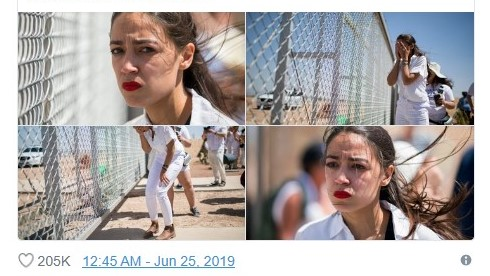 PolitiFact: AOC Wasn't 'Crying Over a Parking Lot,' It Was a Road!