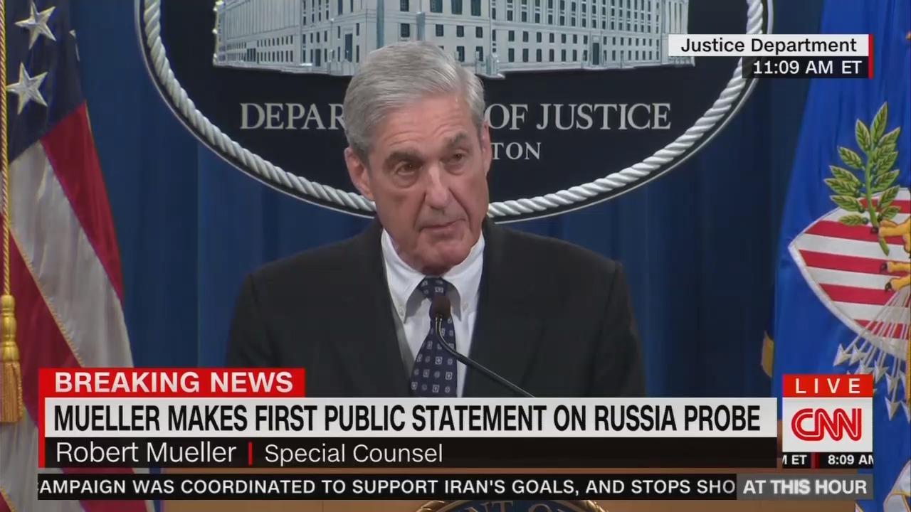 CNN Panel Twists Mueller's Words to Declare Trump Guilty