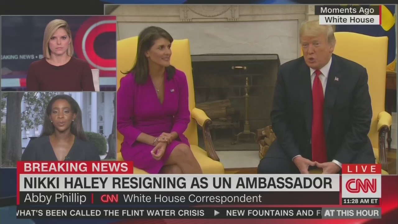 CNN Suggests Haley Departure Might Be Connected to Kavanaugh Confirmation