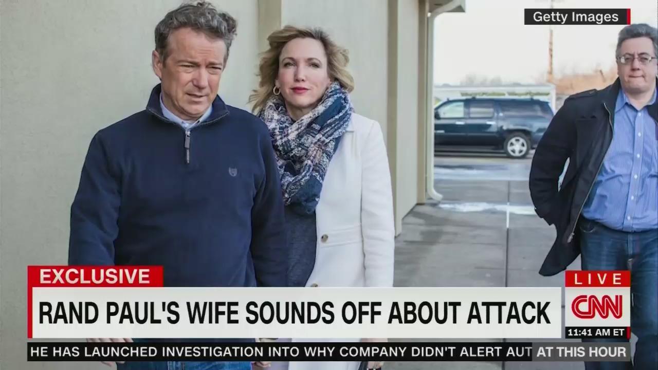 Kelley Paul Slams Media's 'Hateful' 'False' Reports on Brutal Attack From Neighbor