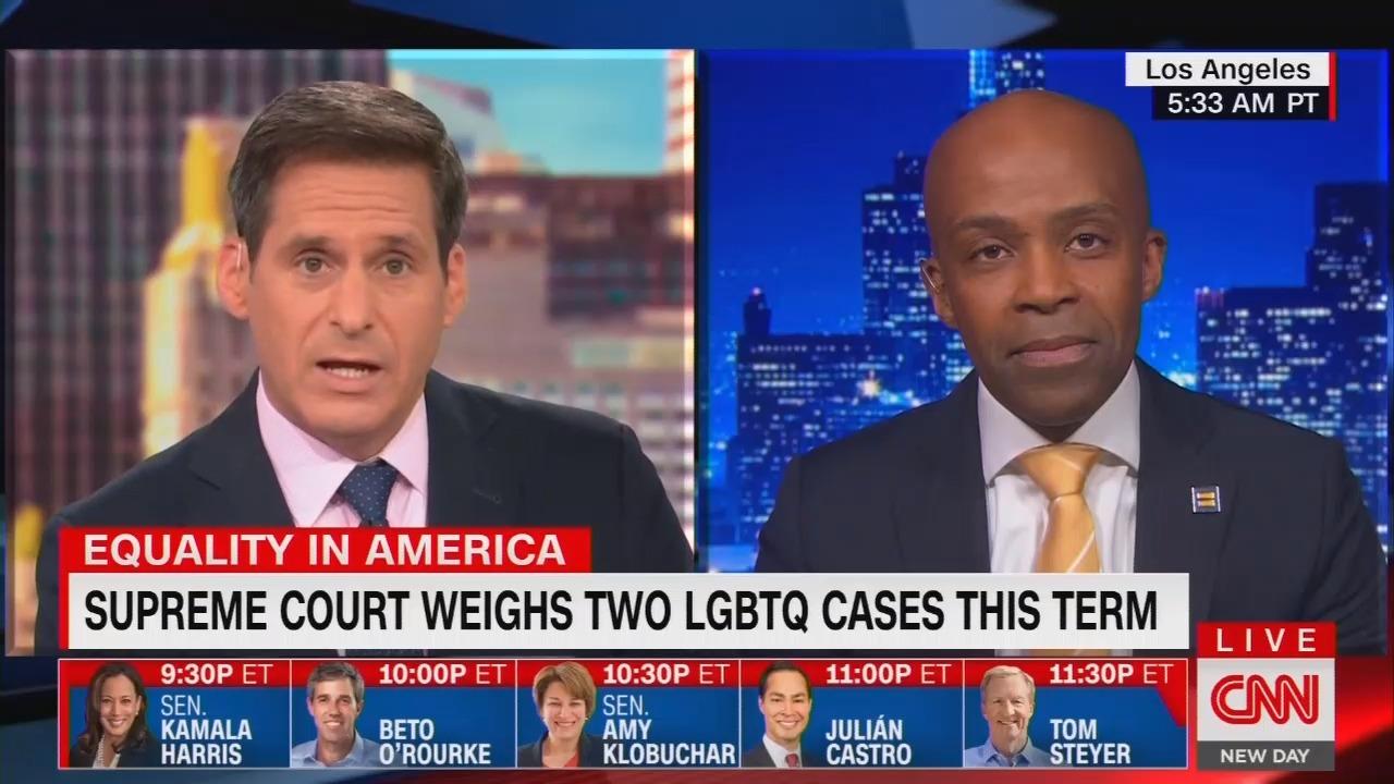 CNN Ties Hate Crime to Supreme Court, Invites Trump Bashing