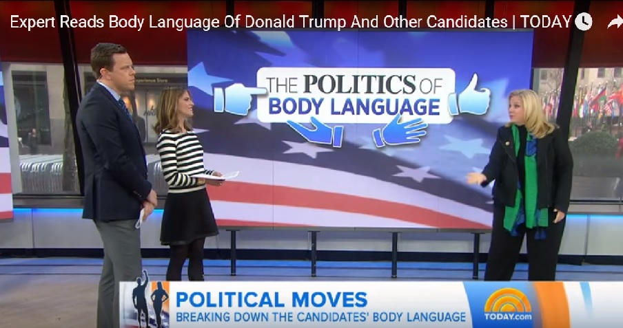 Body Language Expert's Hillary Analysis Bothers Today Hosts