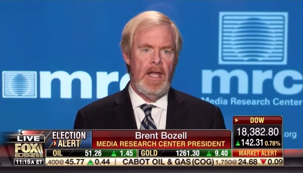 MRC President Brent Bozell Calls on Conservatives Across the Country to Protest Left-Wing Media