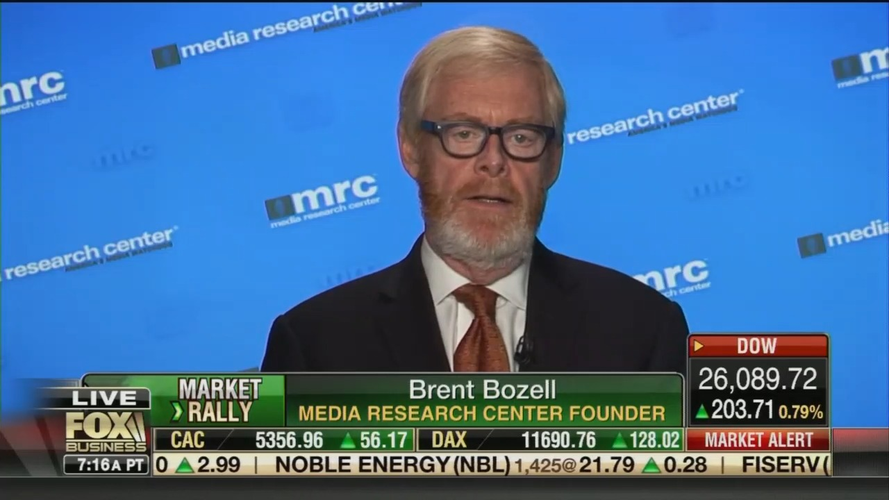 MRC's Brent Bozell: NY Times Has Given Up Reporting Real News