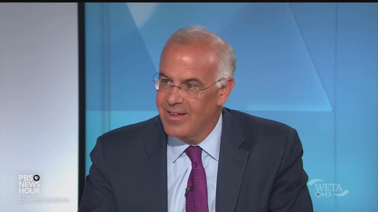 On PBS & NPR, Brooks Defends Biden Medal Mangle: 'He's Not Mendacious'