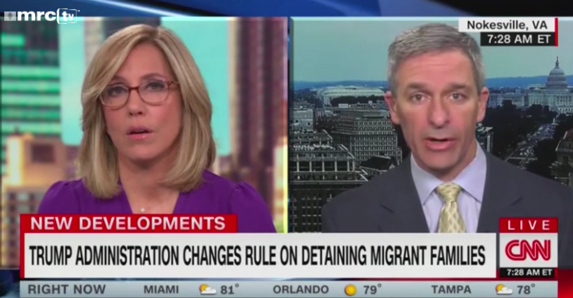 Trump's Immigration Chief BATTLES CNN: 'You're Pushing a Narrative'