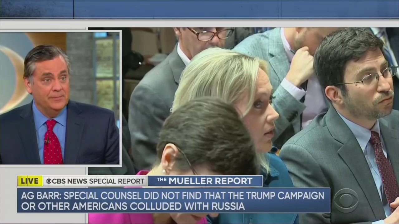 Jonathan Turley Shoots Down Dem Concerns, Slams CBS Reporter's 'Insulting' Question to Barr