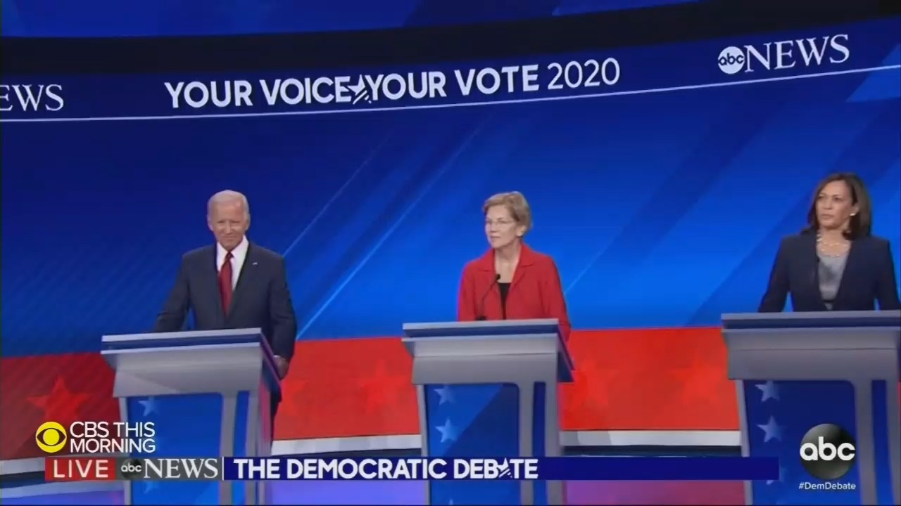 New Media Spin on Dem Debate: 'Revenge of the Moderates,' 'Centrists'