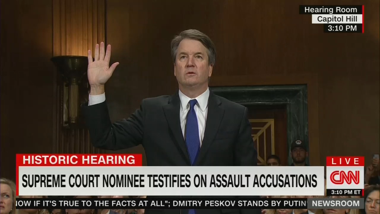 WH Correspondents' Association Hails CNN's Kavanaugh Coverage; 'Like....Watching a Symphony'
