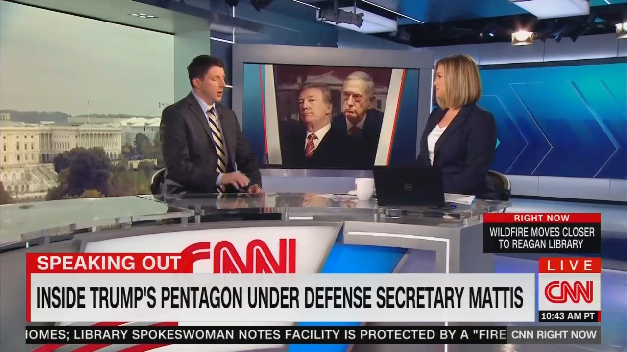 CNN Cheers on Ex-Mattis Aide Who Trashes Trump, Skips This Key Fact