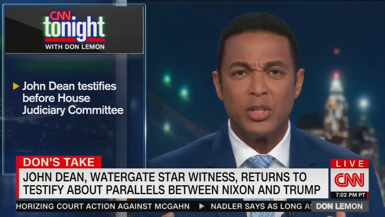 Lemon Complains NYC Helicopter Crash Eclipsed Coverage of Dean's Testimony