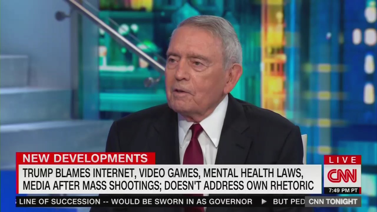 Dan Rather Urges Press Report What Trump 'Believes' NOT What He 'Says'