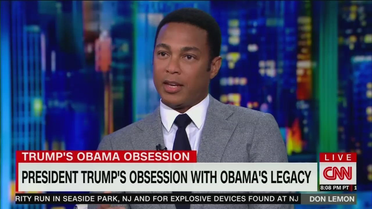 CNN: Trump Is 'Jealous' of Obama Because He'll Never Be ...