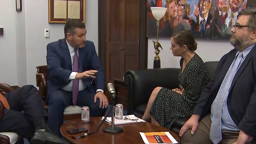 'I Wanted to Know That You Really Are A Human With A Heart': Alyssa Milano On Meeting with Ted Cruz