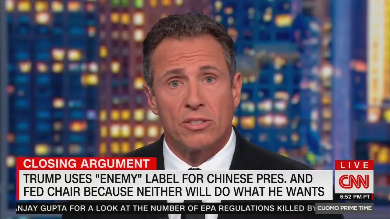 CNN's Cuomo: 'The President's Mouth is a Threat to This Country'