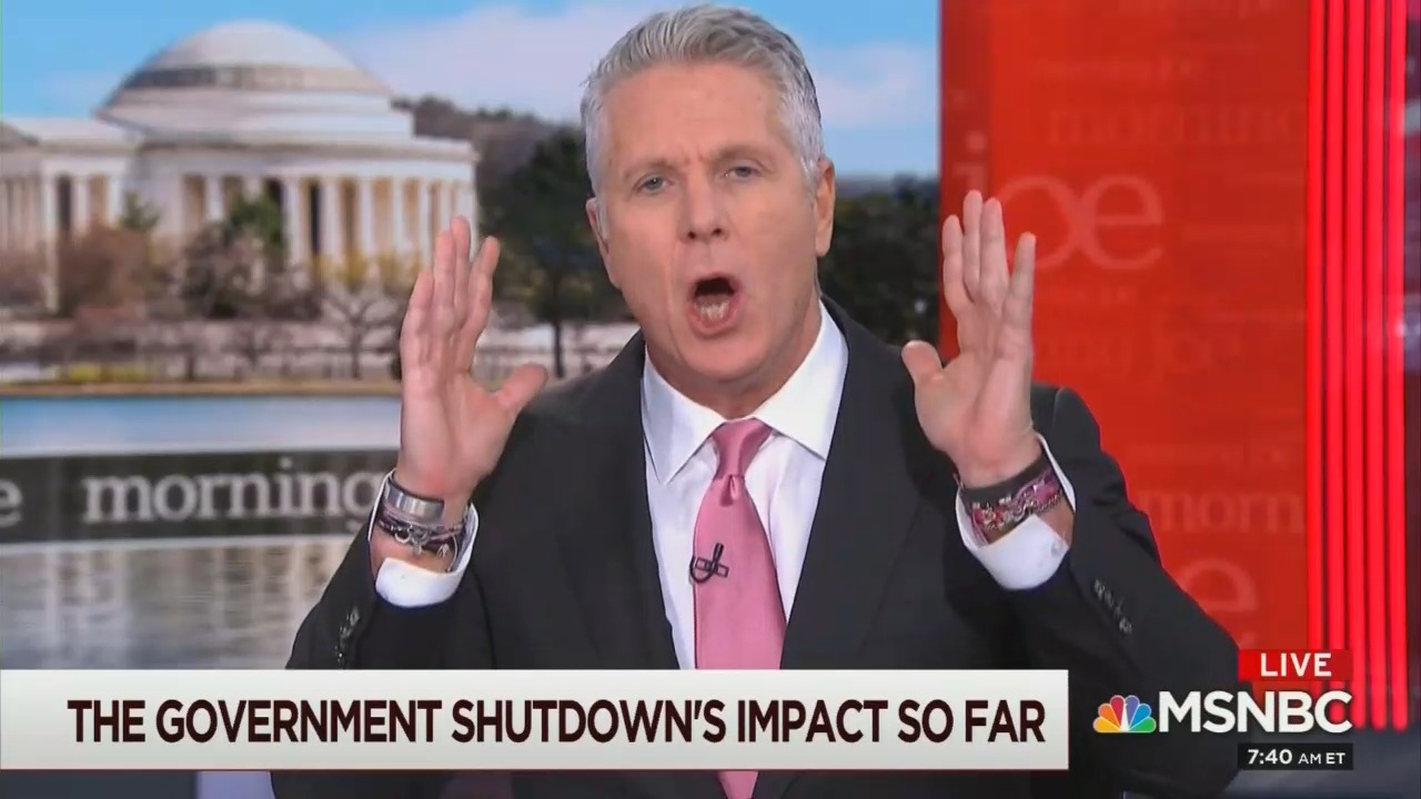 MSNBC Meltdown Over Shutdown: '[Trump] Is Going to Win This!'
