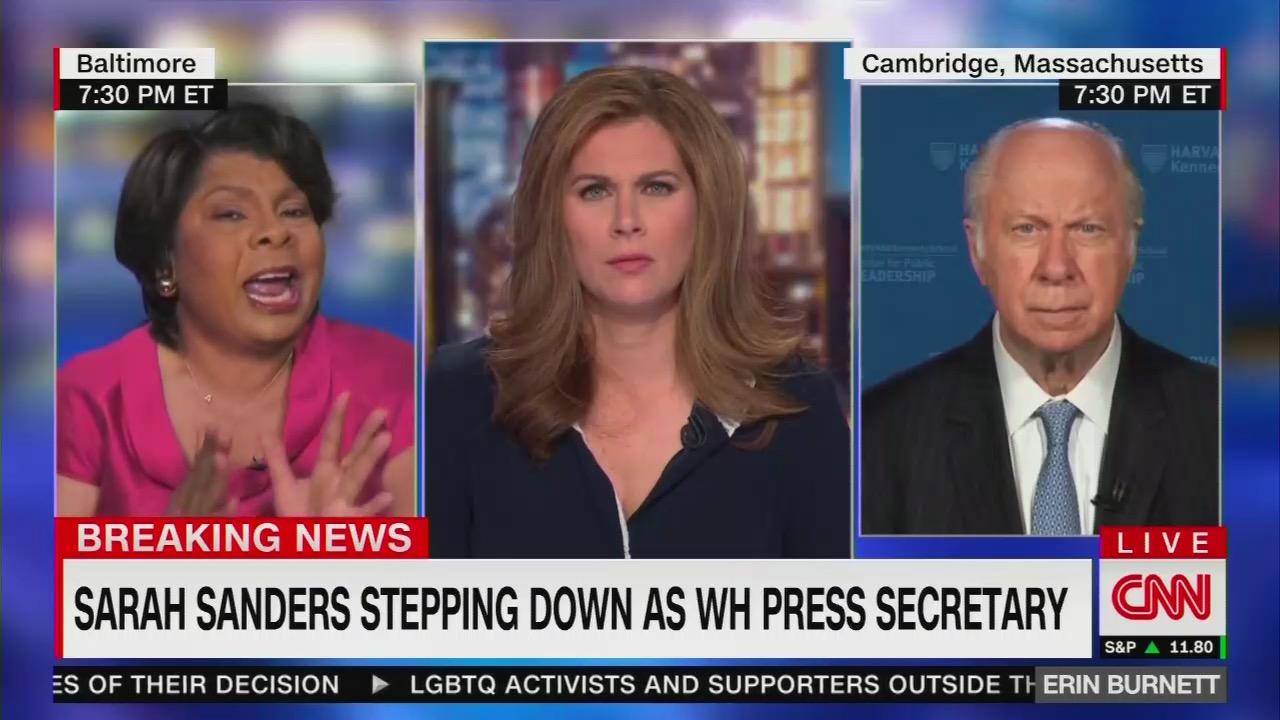 Shameless CNN Invites Foe April Ryan to Attack Departing Sanders: 'Worst' Press Sec. In Three Decades